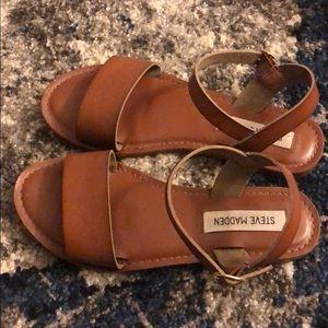 Steve Madden Classic Brown Sandals